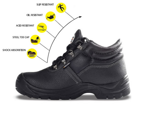 Mercury Safety Boot - Sims Safety Wear